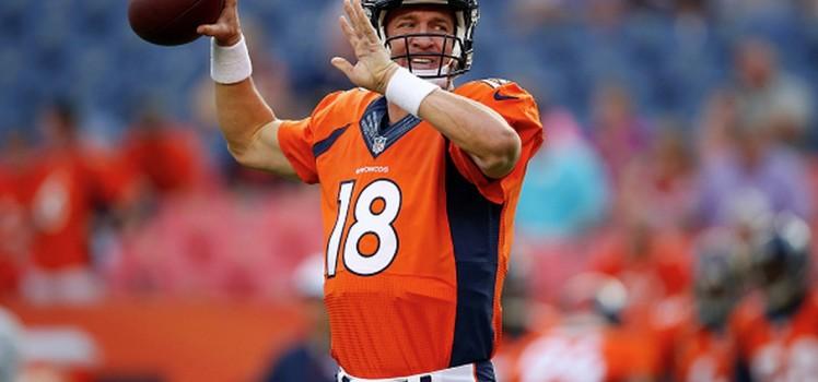 Peyton Manning - Denver Broncos QB -- NFL Week 1 Picks