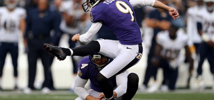 Justin Tucker -- Image Credit: Getty Images