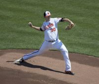 Chris Davis - Baltimore Orioles pitcher