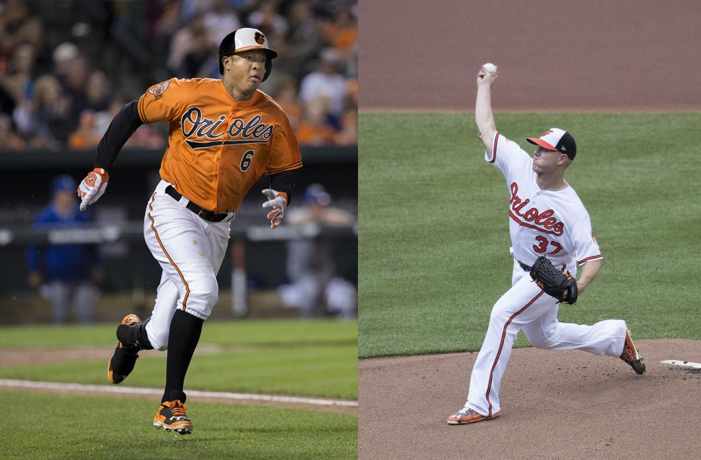 Baltimore Orioles - Jonathan Schoop and Dylan Bundy