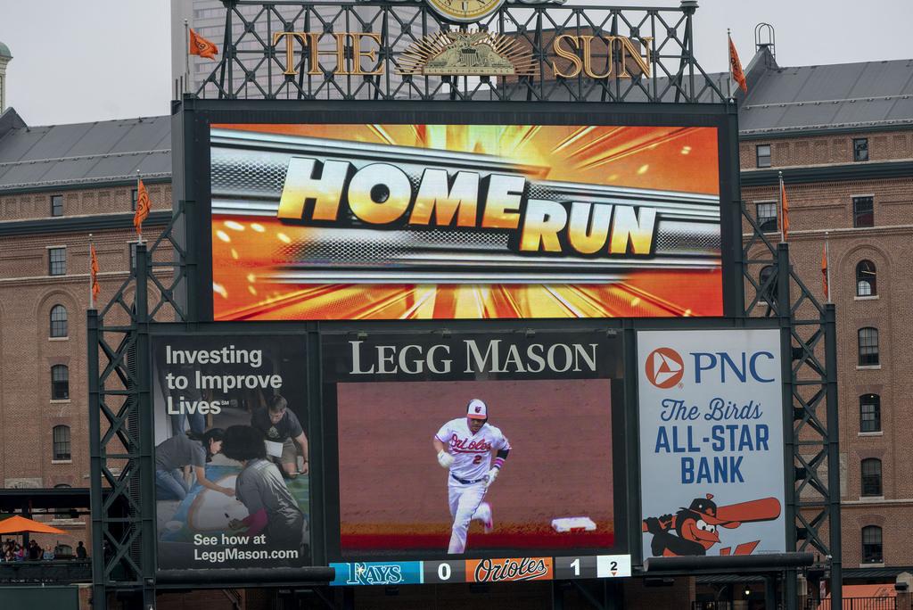 Danny Valencia Home Run