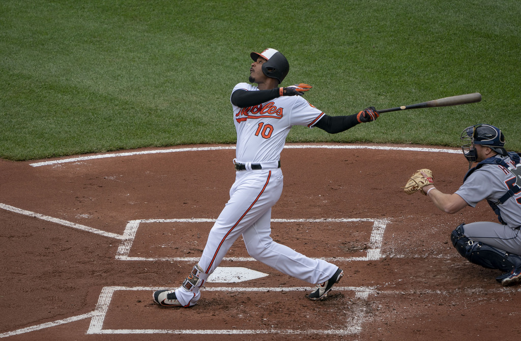 Adam Jones - Baltimore Orioles centerfielder