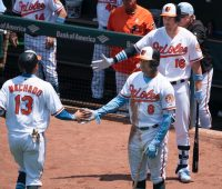 Manny Machado and Jonathan Schoop - Baltimore Orioles